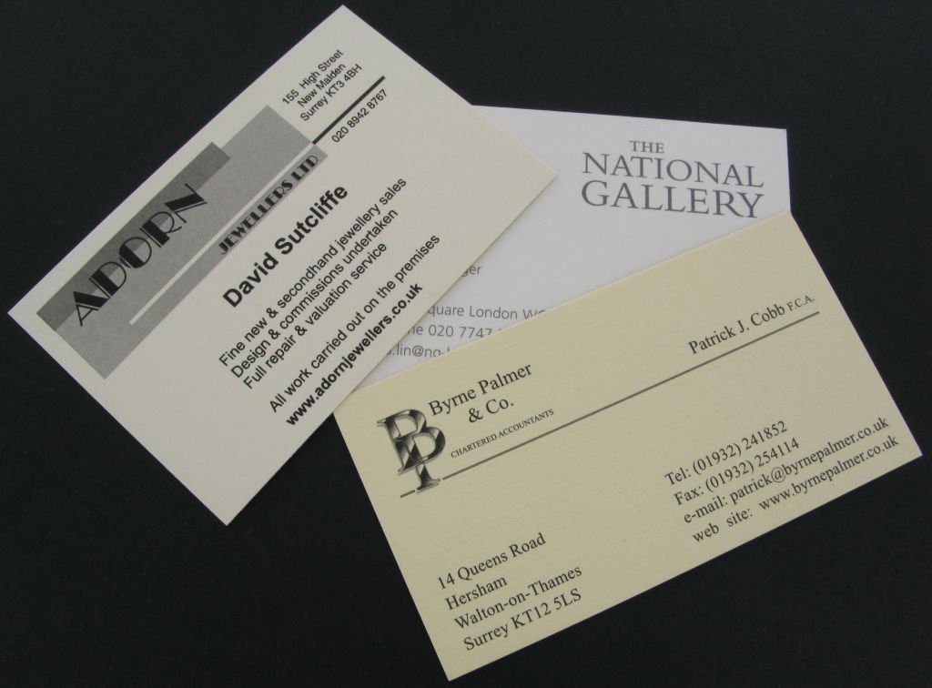 Business Cards - Business Stationery